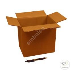 Kartonnen doos enkelgolf 21,5 x 15 x 20,5 cm