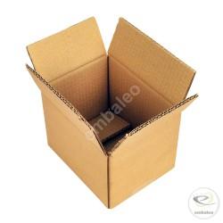 Kartonnen doos dubbelgolf 16x12x11 cm