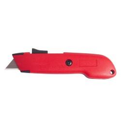 Beveiligde cutter met intrekbaar mes