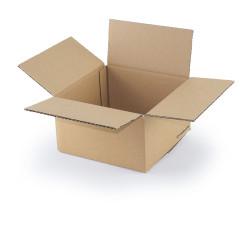 Kartonnen doos enkelgolf 20x20x11 cm
