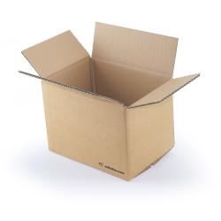 Kartonnen doos enkelgolf 20x14x14 cm