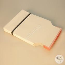 Witte kartonnen envelop CD 16 x 17,5 cm