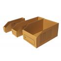 Kartonnen magazijnbakken